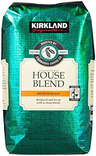 Kirkland Signature Starbucks House Blend Coffee 907g (32OZ) Fairtrade