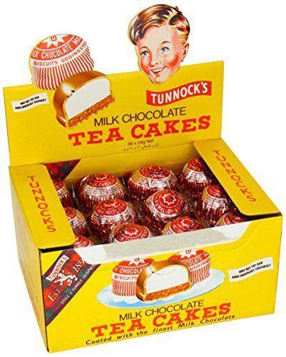 Tunnock's Real Milk Chocolate Tea Cakes (Pack of 36)