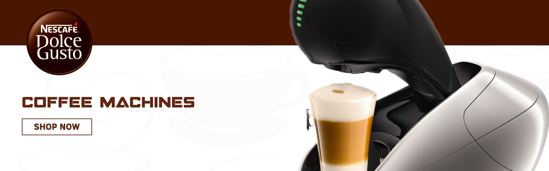 Coffee Machines Banner